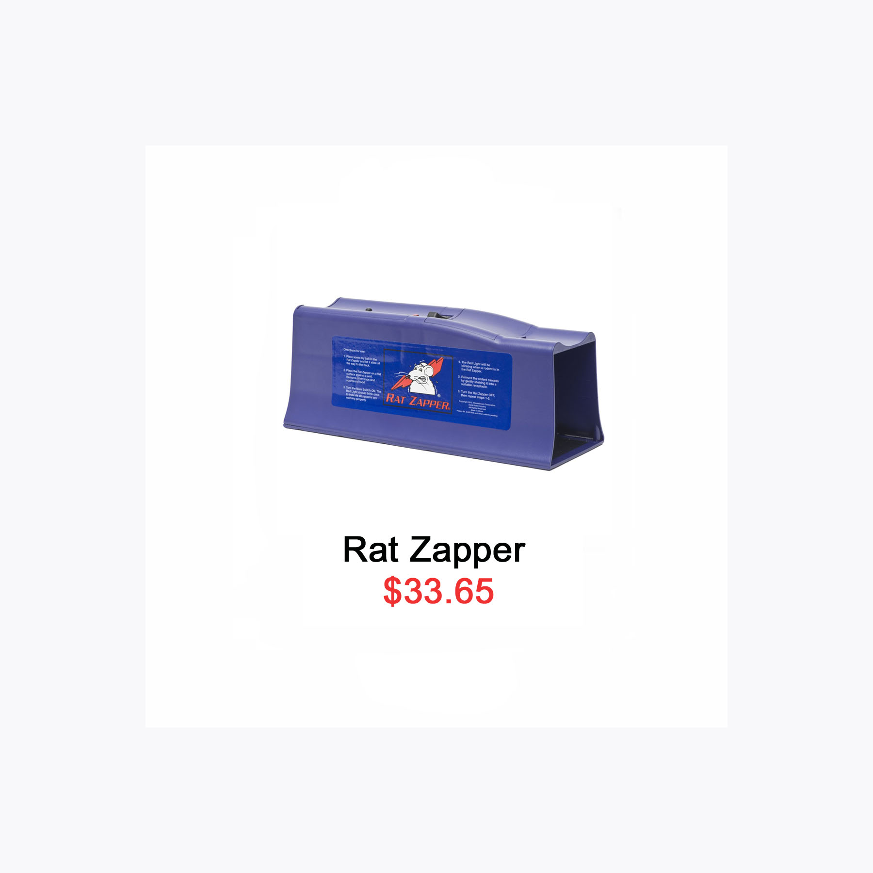 rat zapper grid