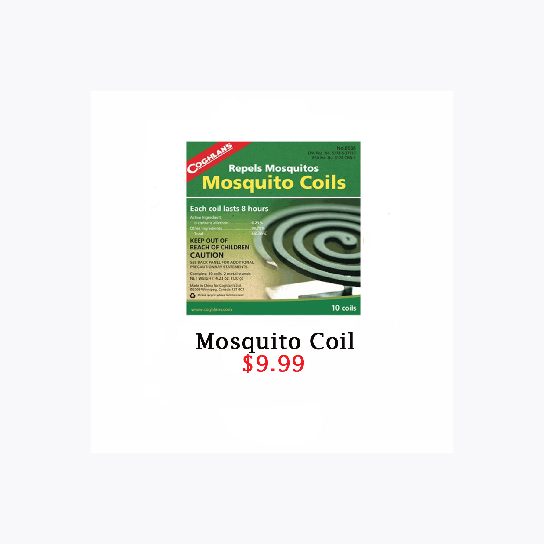 mosquito coil grid