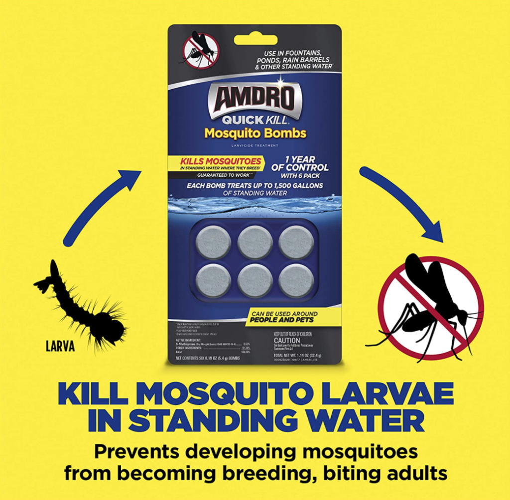 mosquito bombs information