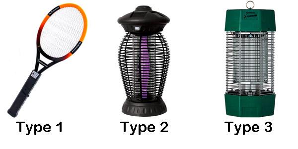 bug zapper types